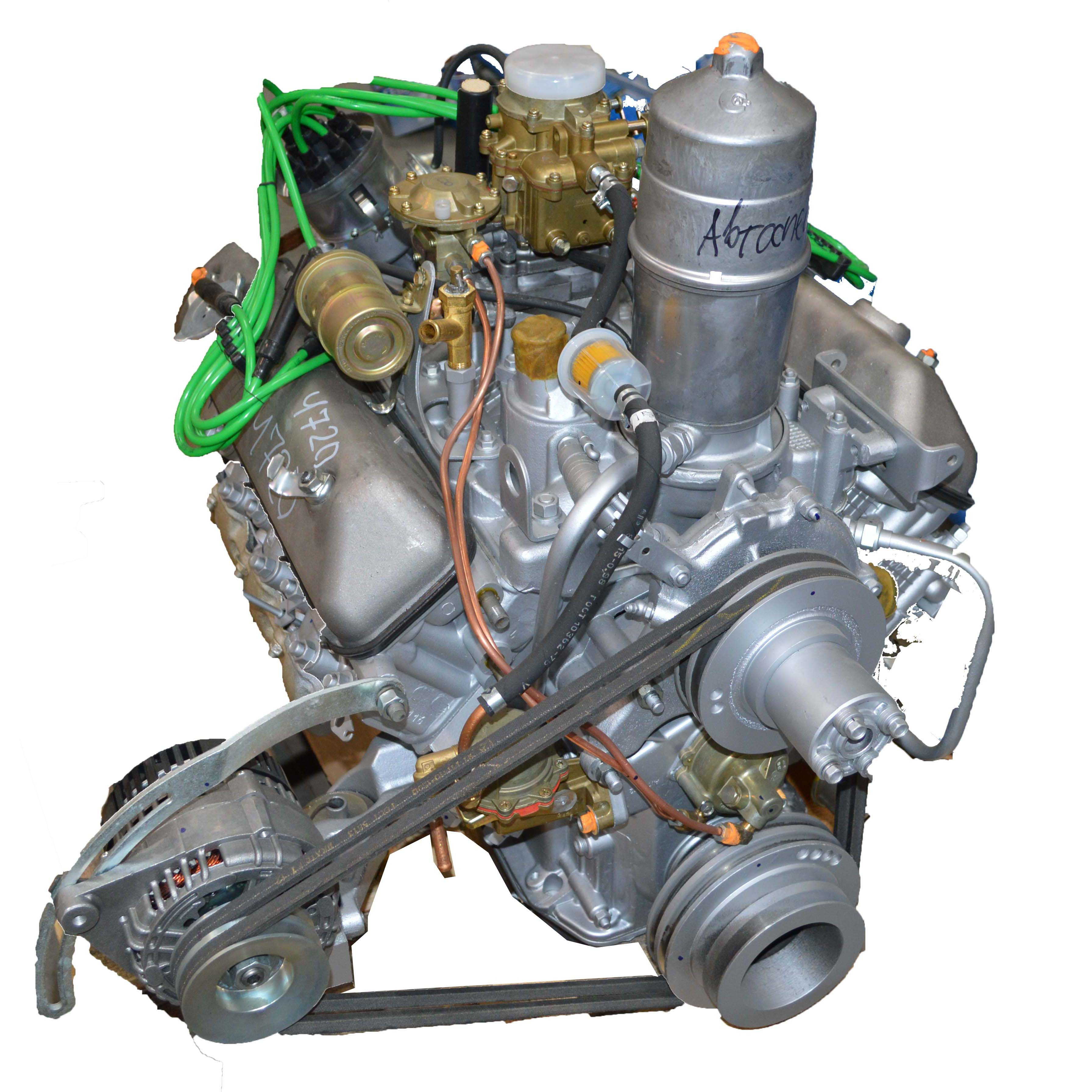 Характеристика двигателя от газ 66